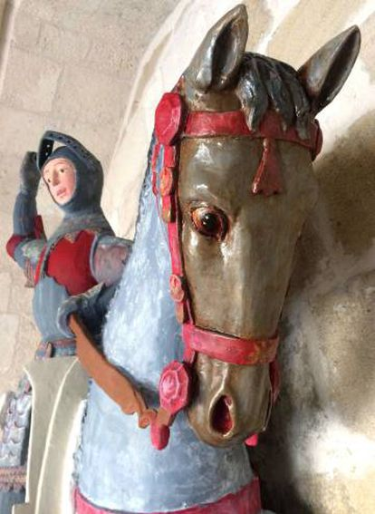 Another image of the sculpture supplied by ACRE.