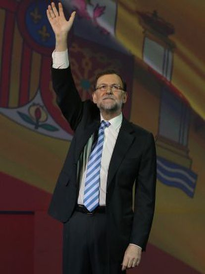 Mariano Rajoy will send out a message of optimism on Tuesday.