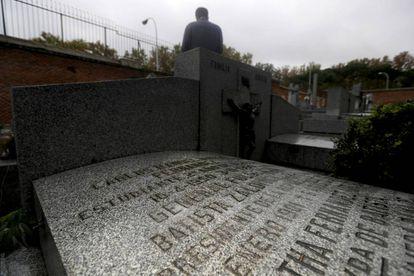 The grave of Cuban dictator Fulgencio Batista in San Isidoro cemetery.