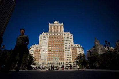 Dalian Wanda purchased the Edificio España building in Madrid in 2014.