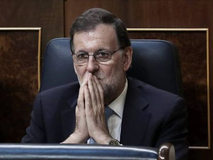 Mariano Rajoy is struggling to find support for a reinstatement bid.