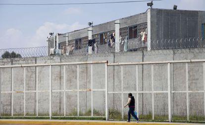 The Santa Martha Acatitla penitentiary in Mexico City.