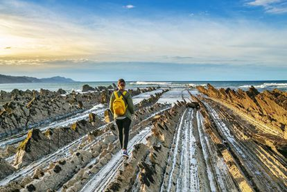 Known for its jagged rock formations known as 'flysch,' this natural reserve attracts 1,300 visitors a year. In Zumaia, visitors can see a fine black layer left after an asteroid hit 66 million years ago.