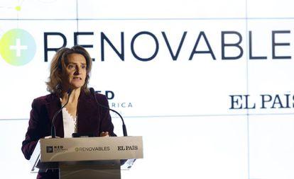 Ecological Transition Minister Teresa Ribera.