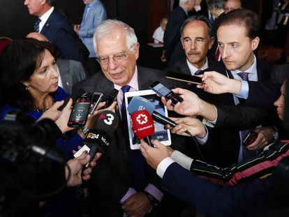 Spanish Foreign Minister Josep Borrell.