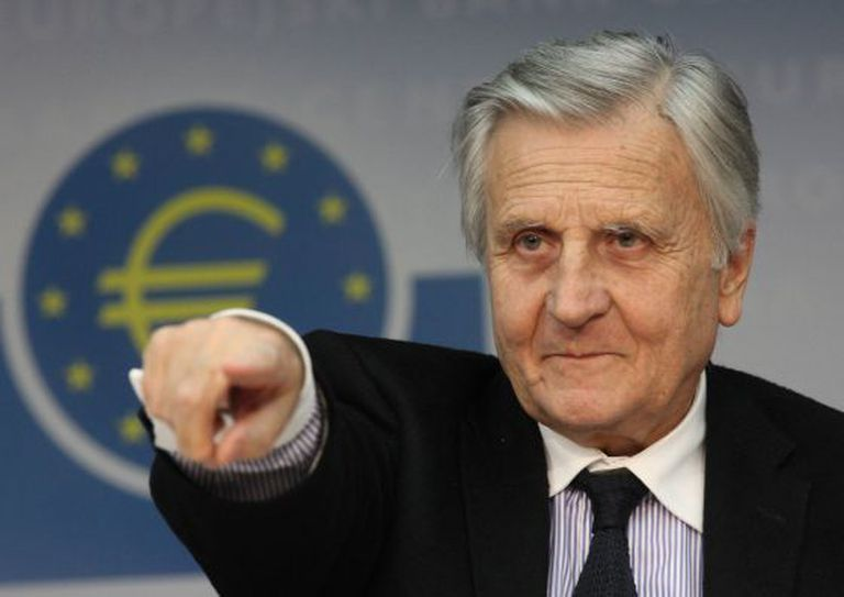 Jean-Claude Trichet, former president of the European Central Bank (ECB).
