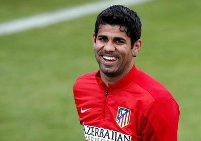 Atlético Madrid striker Diego Costa.