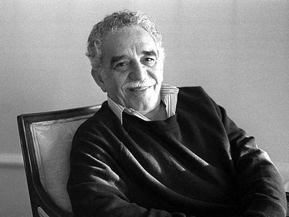 Gabriel García Márquez in May 1996 in Madrid.