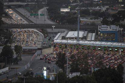 The border crossing of San Ysidro, in Tijuana