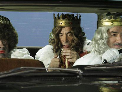 The Three Kings in TVE show 'Cuéntame.'