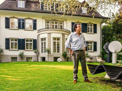 Spanish architect Santiago Calatrava in his Zurich home.