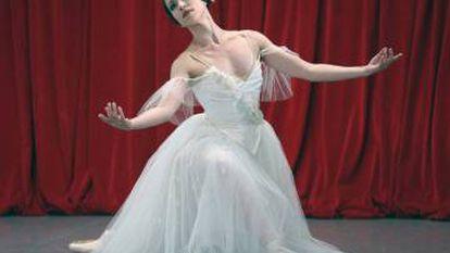 La primera bailarina Amaya Iglesias, en Giselle.