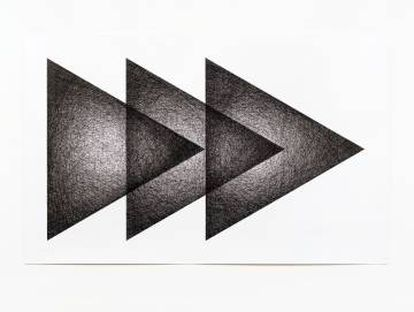 Three Triangles by Ignacio Uriarte.