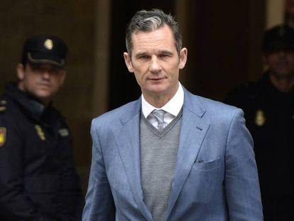 The king of Spain's brother-in-law, Iñaki Urdangarin.