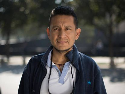 Jesús Espinosa, born in Mexico City, voted for Trump.