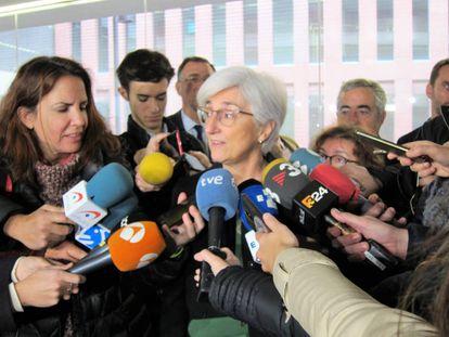 Attorney General María José Segarra.