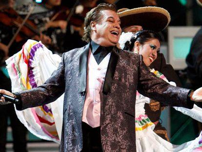 Mexican song idol Juan Gabriel.