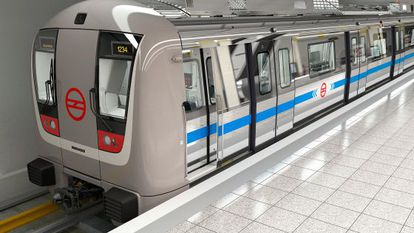 Bombardier has participated in various rail projects in Asia and Europe, including the New Delhi Metro.