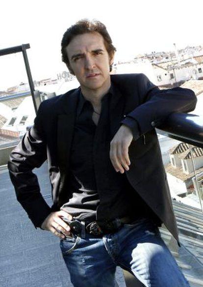 "The singer José Ramón Márquez, known as ""Ramoncín."""