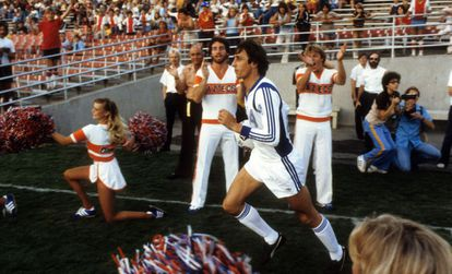 Cruyff during a game for the Los Angeles Aztecs.