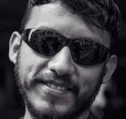 Mexican photojournalist Rubén Espinosa, who was murdered on Friday.