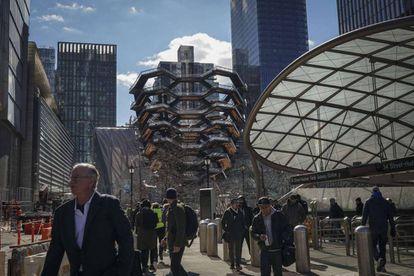 Hudson Yards, a new neighborhood in Manhattan.