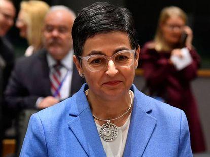 Foreign Minister Arancha González Laya.