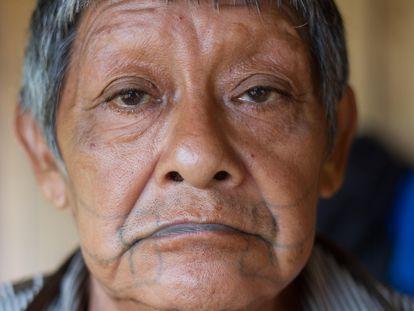 Aruká Juma, the last male member of the Juma tribe.