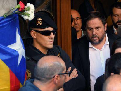 Catalan regional deputy premier Oriol Junqueras.