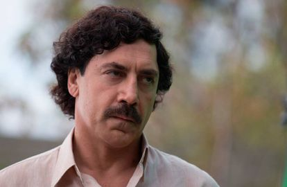 Javier Bardem, in a scene from 'Loving Pablo.'