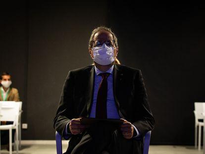 Catalan premier Quim Torra on Monday.