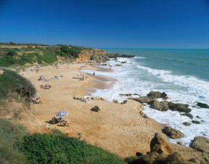 The beach of Roche, in Conil de la Frontera (Cádiz).