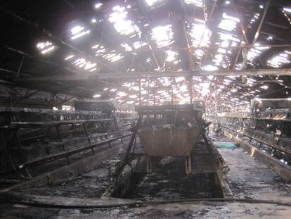 In this case it was discovered that the owner had taken out a fire insurance policy two months previously. Before setting fire to the warehouse, he removed the machinery and replaced it with scrap metal.