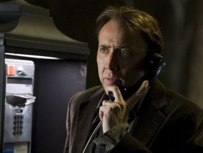 Nicolas Cage in sci-fi drama Knowing (2009).