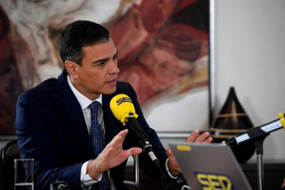 Pedro Sánchez during Monday's radio interview.