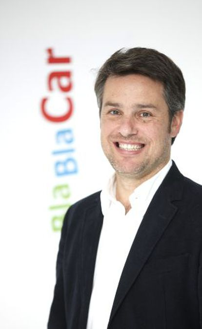 Vincent Rossi, director of BlaBlaCar for Spain and Portugal.