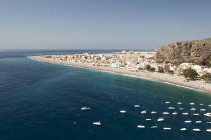 Calahonda Beach in Spain's Granada province.