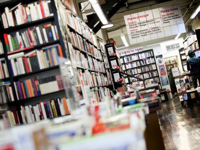 Sales from bookshops in Spain, such as La Central in Barcelona (above), are plummeting in these times of crisis.