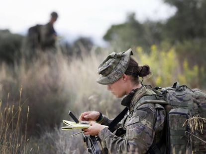 File image of solider in the Special Operations Command (MOE).