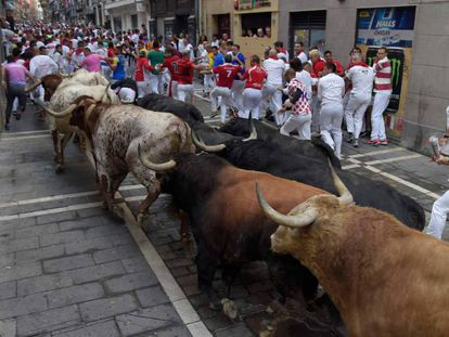 Day 4 of the Running of the Bulls.