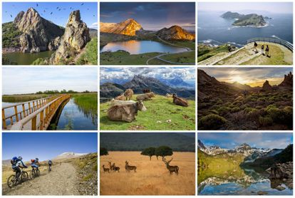 Spain's 15 national parks – 10 on the mainland, four in the Canary Islands and one in the Balearic Islands – showcase the incredible diversity of the country's landscape, from snowy mountains and grassy plains, to sparkling beaches.