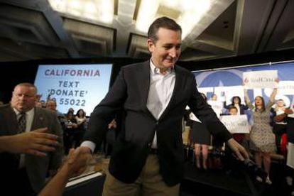 Ted Cruz bowed out of the race on Tuesday, paving the way for Trump.