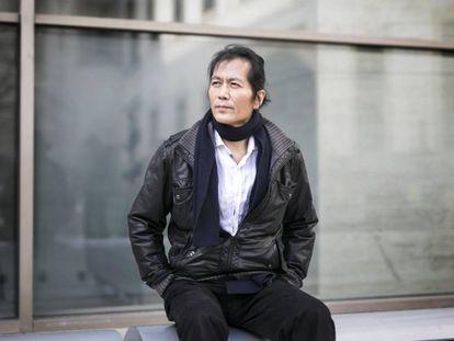Philosopher Byung-Chul Han, in Barcelona yesterday.