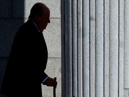 Former King Juan Carlos I on December 6, 2018.