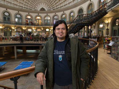 David Casarejos at the Corn Exchange in Leeds.