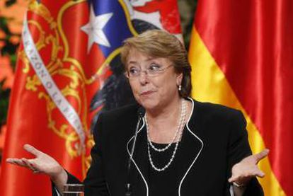 Chilean President Michelle Bachelet has called the present intolerable.