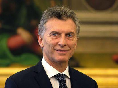 Argentinean President Mauricio Macri.