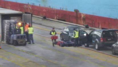 Cale's group seized 450 kg of cocaine in the port of Barcelona in January.