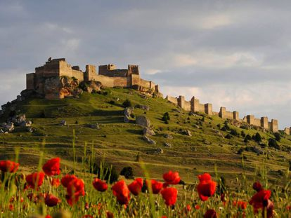 Castle of Gormaz in Soria.