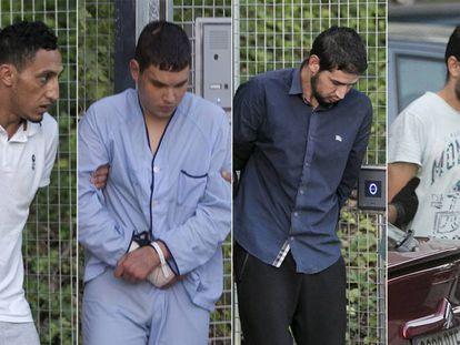 Dris Oukabir, Mohamed Houli Chemlal, Salah El Karib and Mohamed Aallaa.